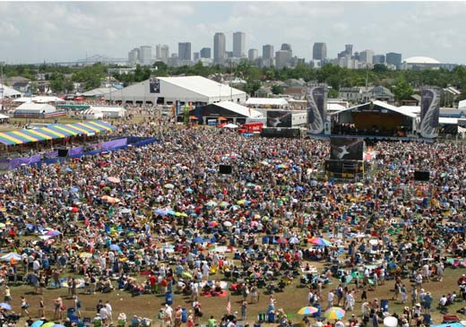New Orleans Jazz Festival 2012 with Eagles, Foo Fighters, John Mayer, Tom Petty