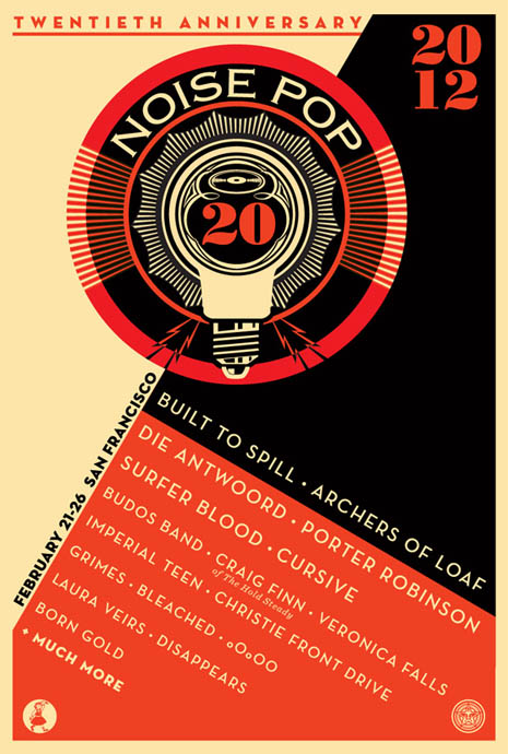 Noise Pop 2012 starts on February 22, 2012.