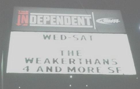 Weakerthans Tour 2012