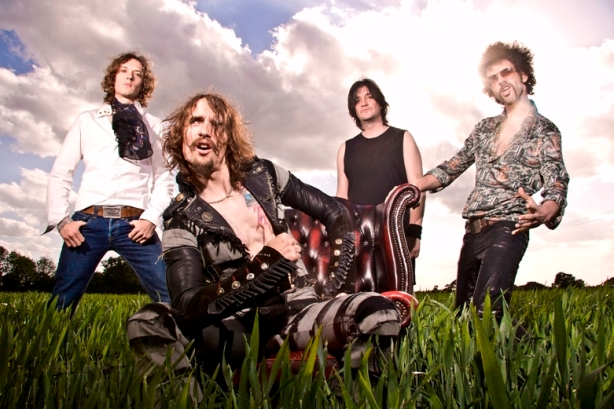 The Darkness will tour North America in 2012.