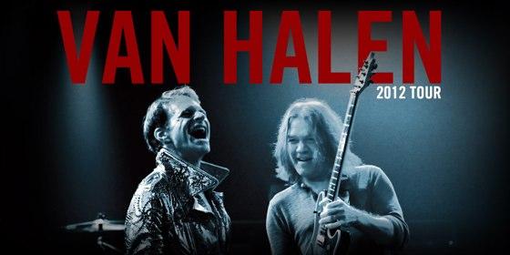 Van Halen Tour Dates 2012
