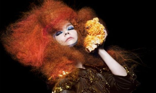 "Bjork played ""Cosmogony"" on The Colbert Report."